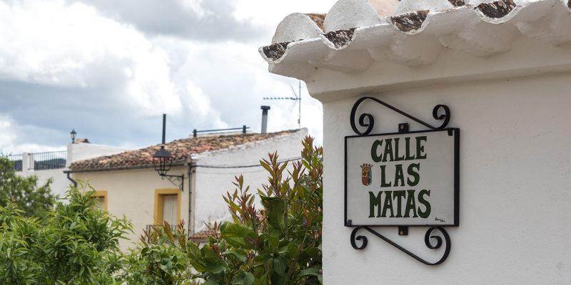 Street sign - Calle las Matas