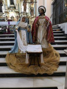 Altar nativity scene, Iglesia Conventual de Santa Clara, Martos