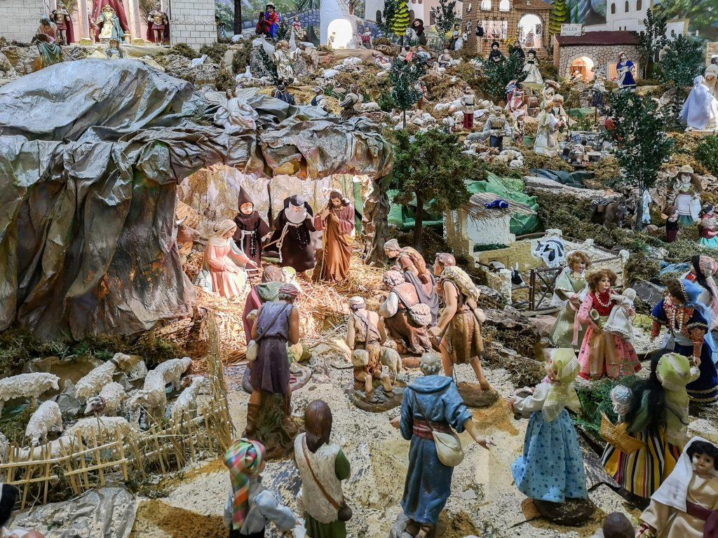 Belén in Iglesia Conventual de Santa Clara, Martos