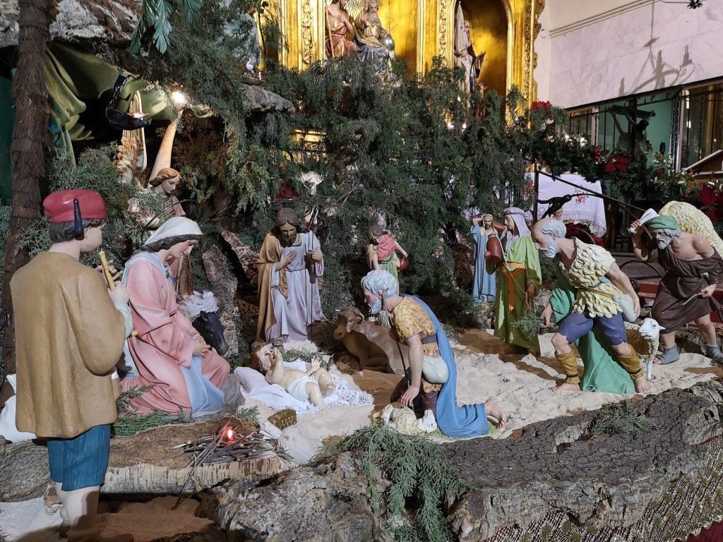 Belén in Monasterio de la Santísima Trinidad, Martos