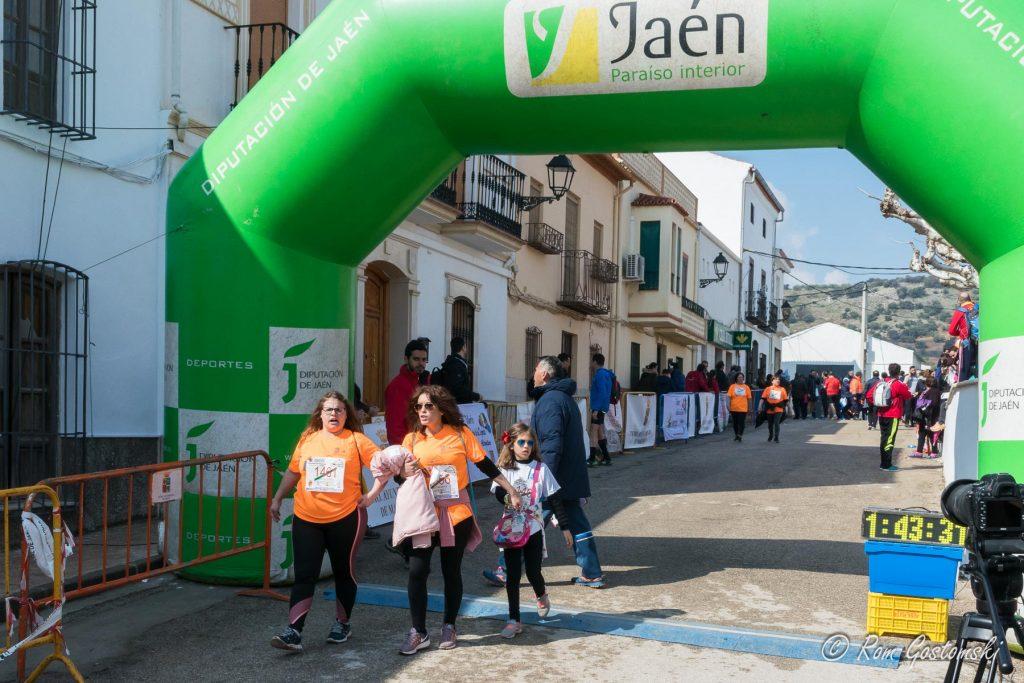 Finishing line of the Cross Pantano del Viboras.