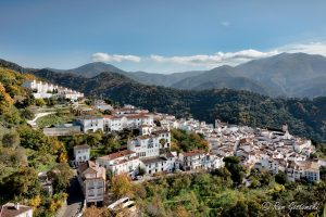 The picturesque white village of Genalguacil in the Valle Genal