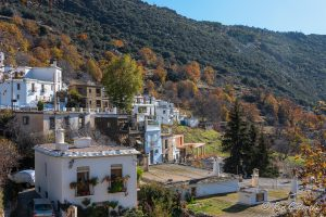 Pampaneira, a white village in the Poqueira valley, Spain