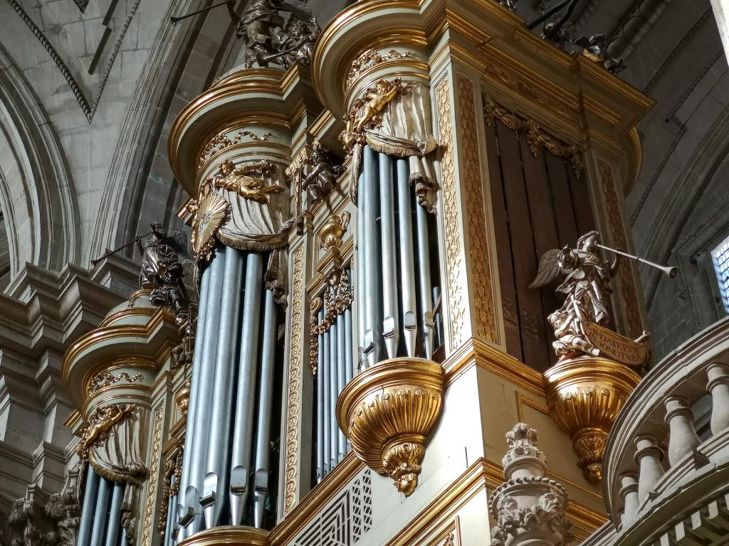 Jaen Cathedral - organ pipes