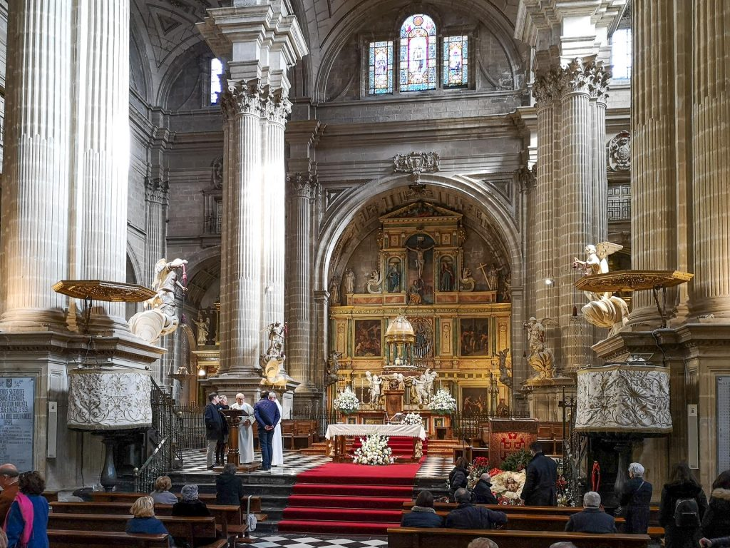 Jaen Cathedral - main altar