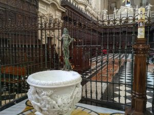 Jaen Cathedral - organ and choir stalls