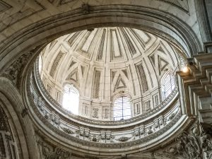 Jaen Cathedral - internal view of main dome