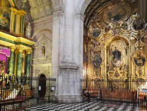 Jaen Cathedral - internal chapels