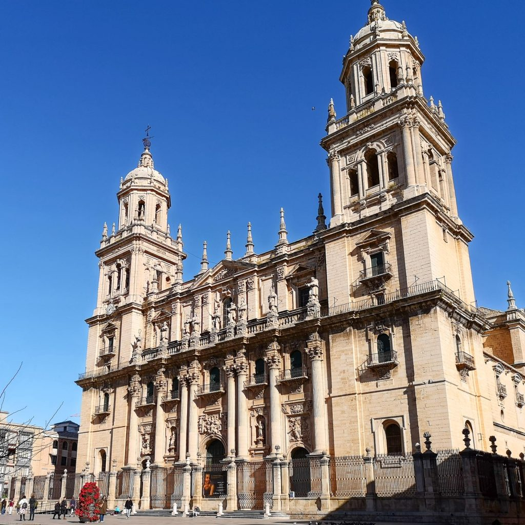 Jaen Cathedral - external view