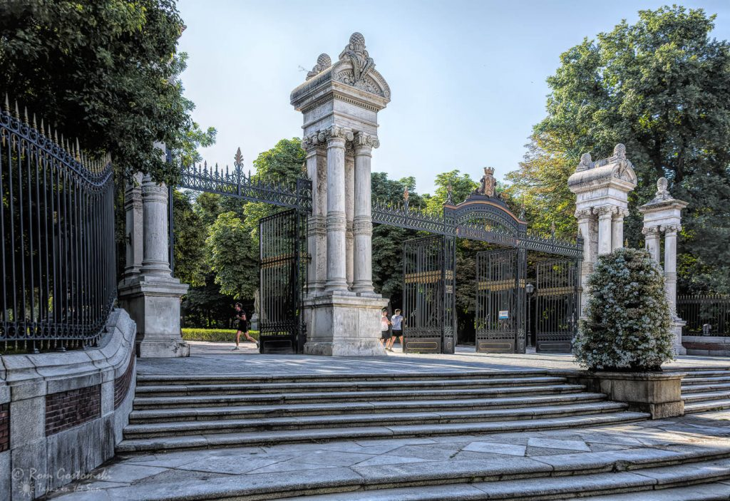 Entrance to Parque del Retiro, Madrid