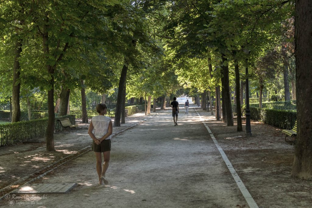 Parque del Retiro - ideal for a stroll