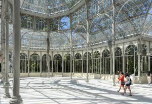Inside the Palacio de Cristal