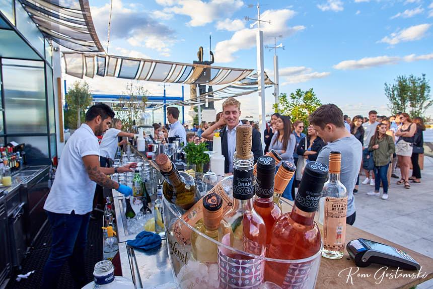 Círculo de Bellas Artes rooftop terrace bar