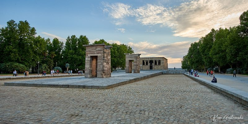 Templo de Debod. Madrid