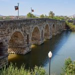 The Roman bridge in Mérida