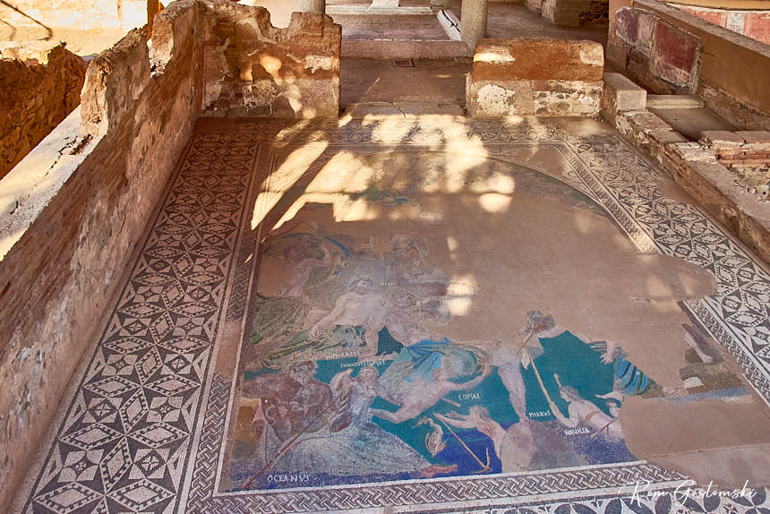Mithraeum House - the Cosmological mosaic.