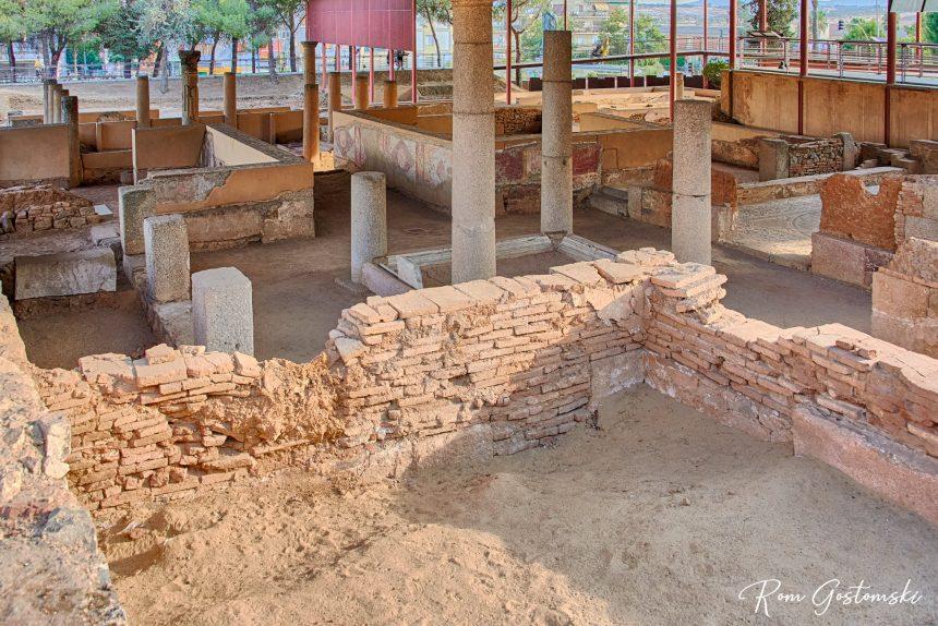 Mithraeum House, Mérida. The columns were generally around the patio areas
