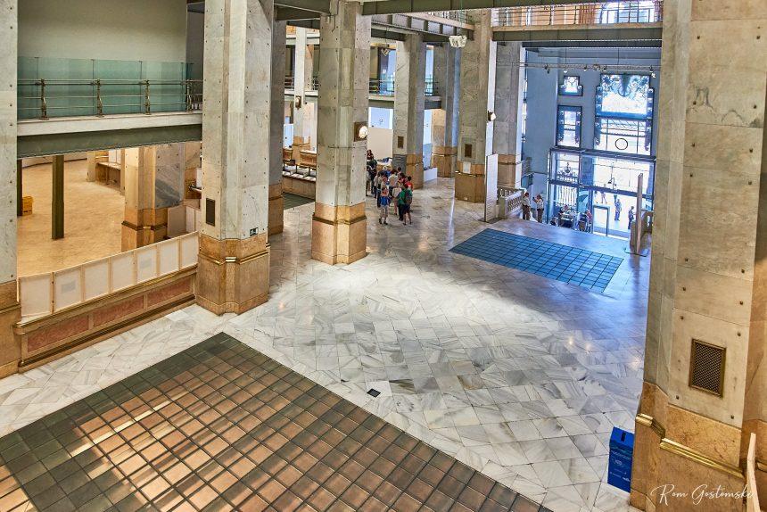 The entrance lobby.